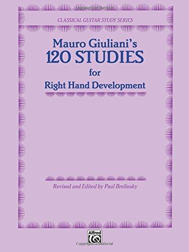 Mauro Giuliani's 120 Studies for Right Hand Development