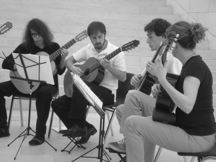 Guilford College Guitar Ensemble (2010)