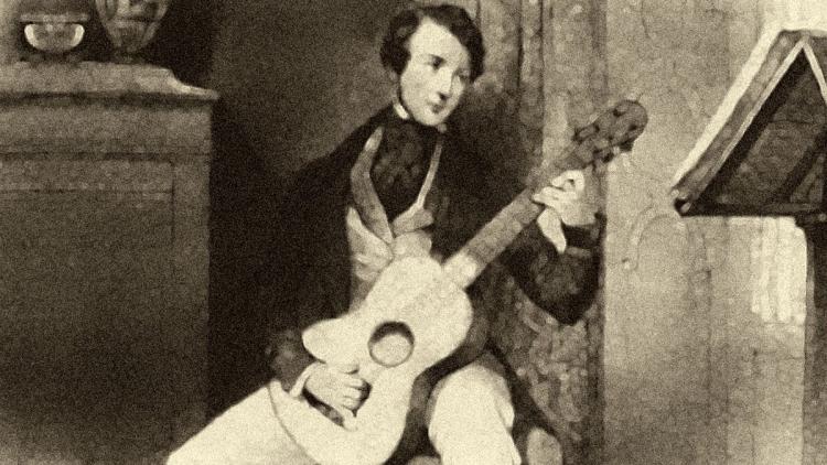 Italian Classical Guitar composer Matteo Carcassi.
