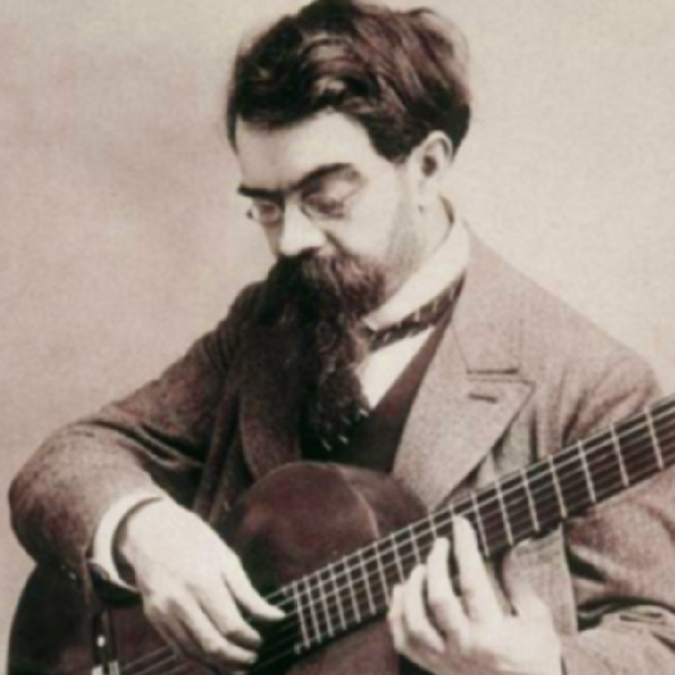 Spanish guitarist and composer Francisco Tárrega