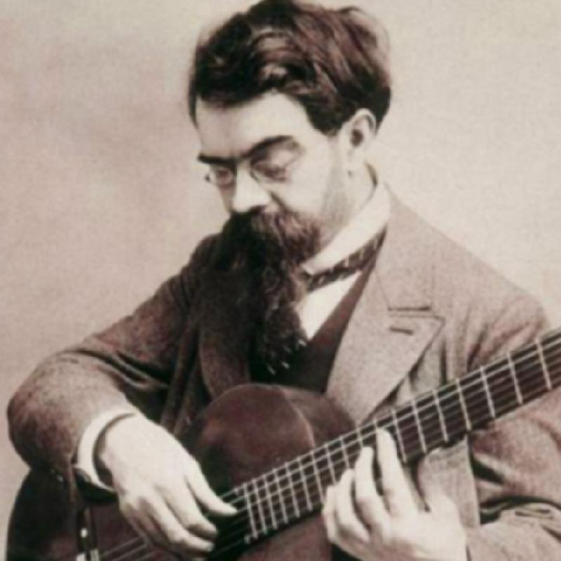Francisco Tárrega, Spanish classical guitarist and composer