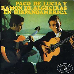 "Flamenco guitar album ""Paco de Lucia y Ramon de Algeciras en Hispanoamerica"""