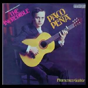 "Flamenco guitarist Paco Peña album ""The Incredible Paco Peña"""