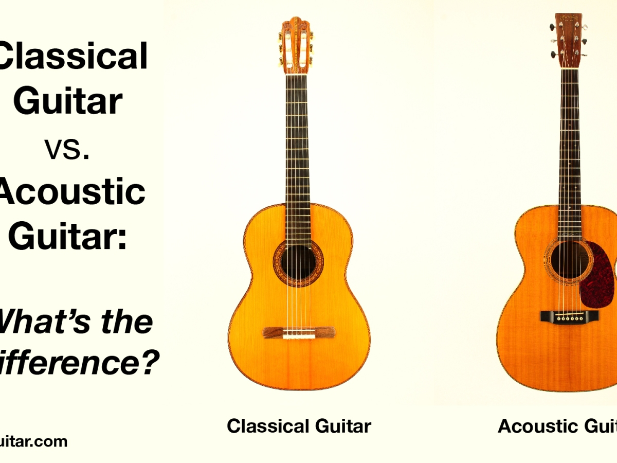 Classical guitar vs acoustic guitar: What's the difference?