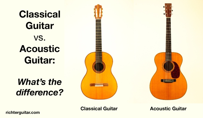 Classical Guitar Vs Acoustic Guitar What S The Difference Learn Guitar Today