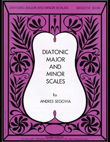 Segovia scales study cover