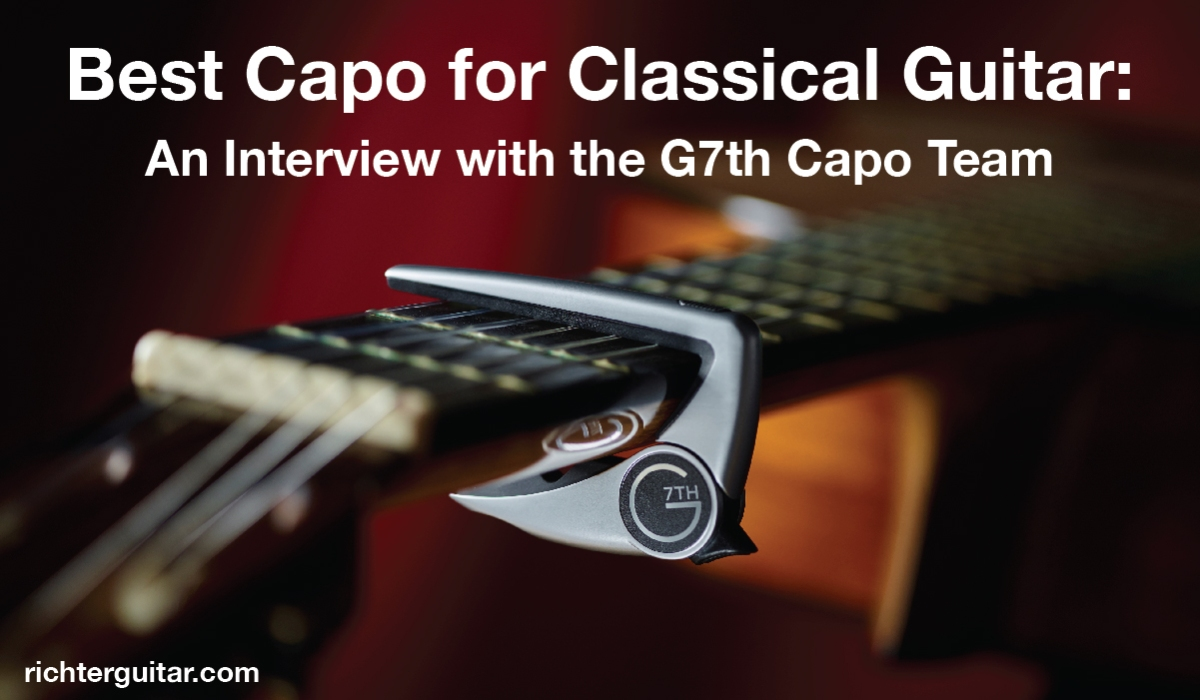 best capo for classical guitar - the G7th Performance 2