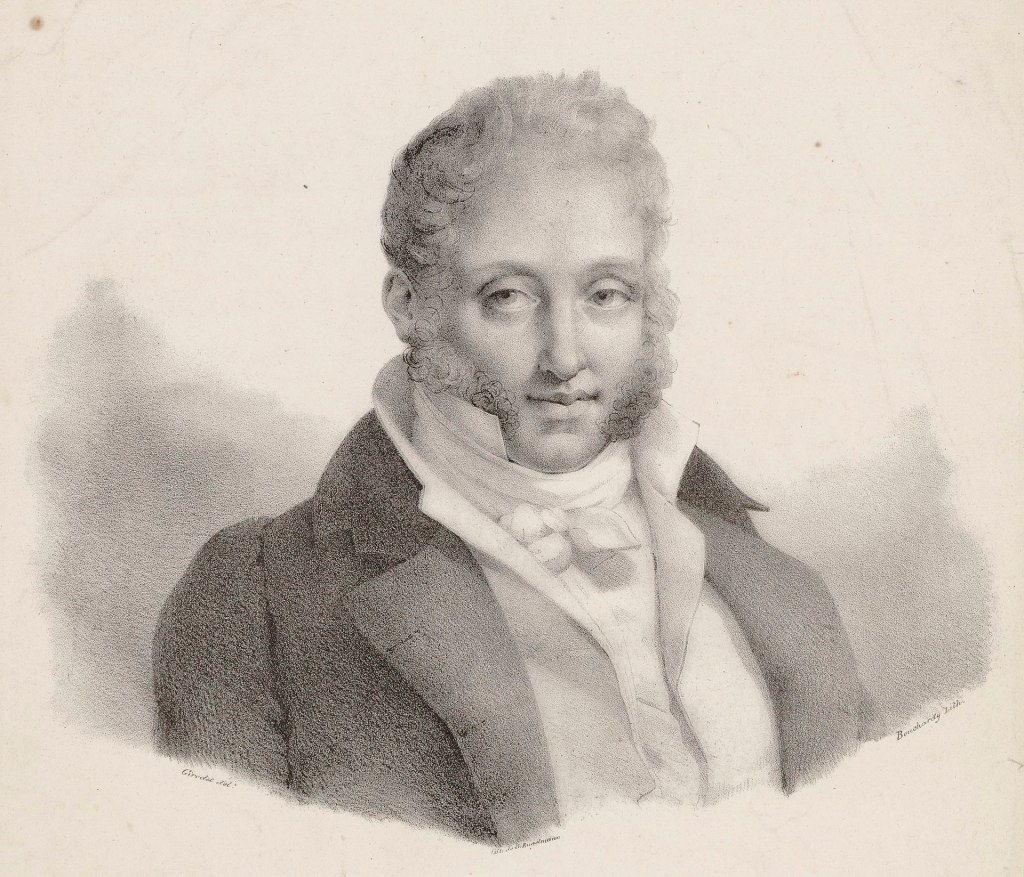 Sketch of Ferdinando Carulli