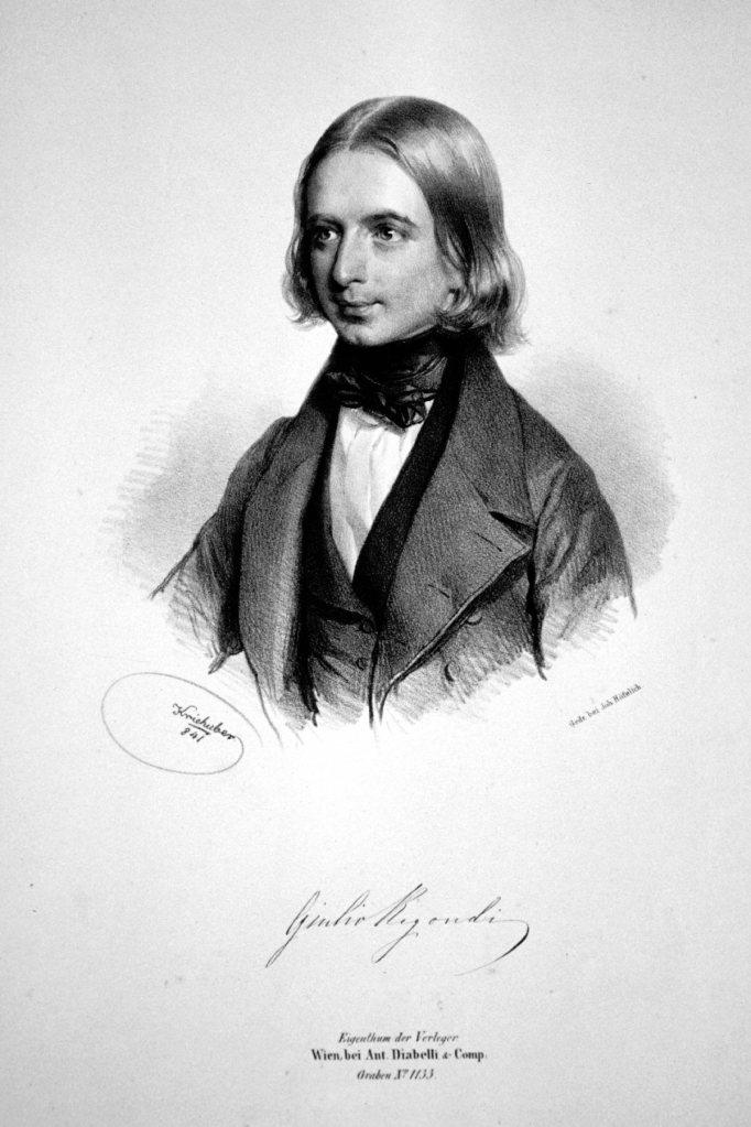 Guitar child prodigy and composer Giulio Regondi