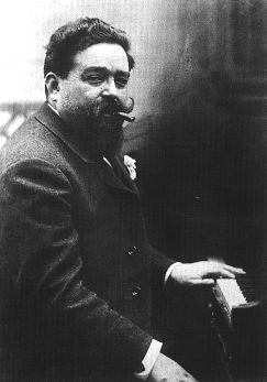 post-Romantic Spanish composer Isaac Albéniz.