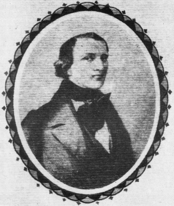 Austro-Hungarian composer J.K. Mertz portrait