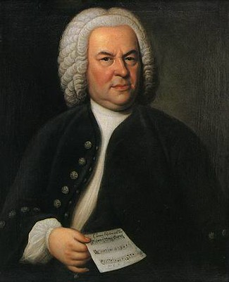 Portrait of composer J.S. Bach