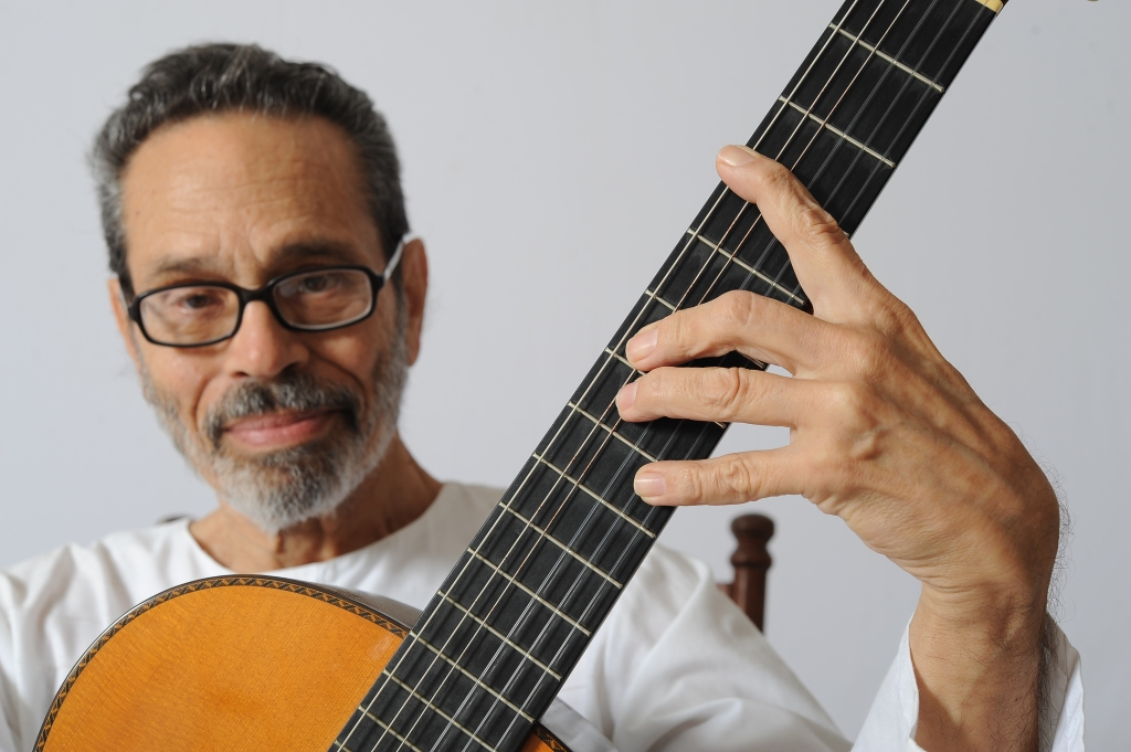 Cuban classical guitarist and composer Leo Brouwer