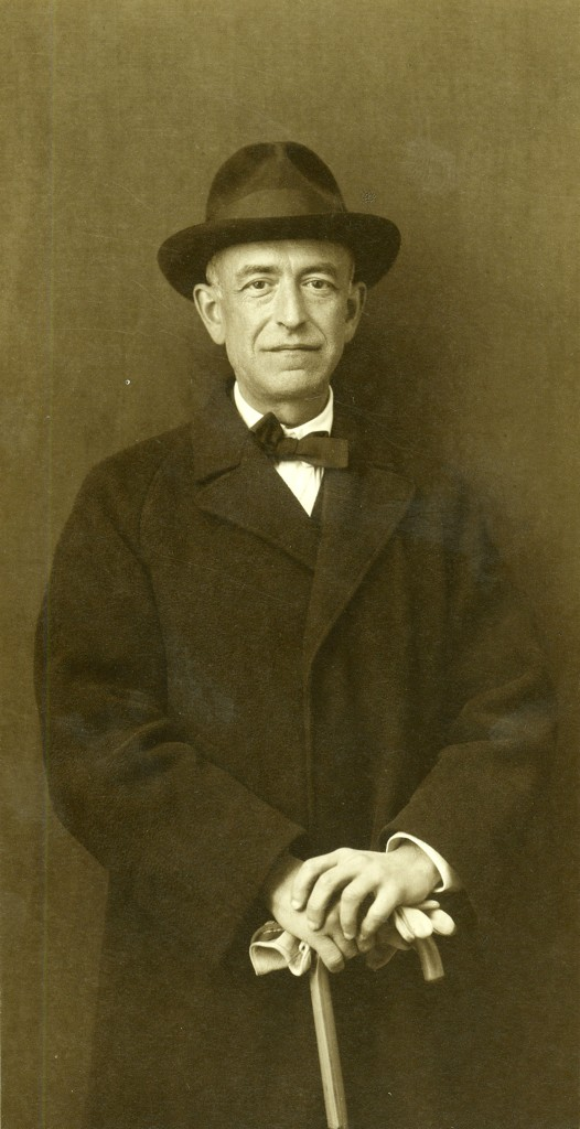 Spanish composer and pianist Manuel de Falla