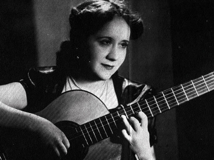 Argentinian guitarist and composer Mariá Luisa Anido