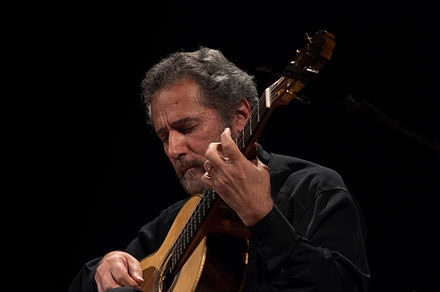 Brazillian guitarist and composer Sérgio Assad