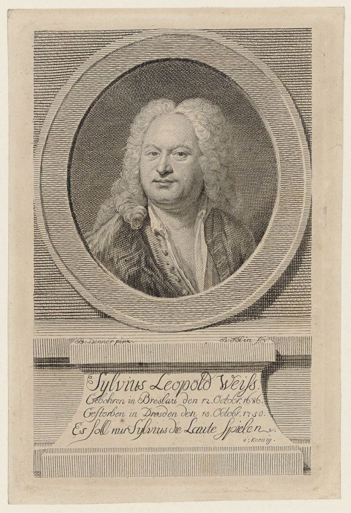 Lutenist and composer Silvius Leopold Weiss