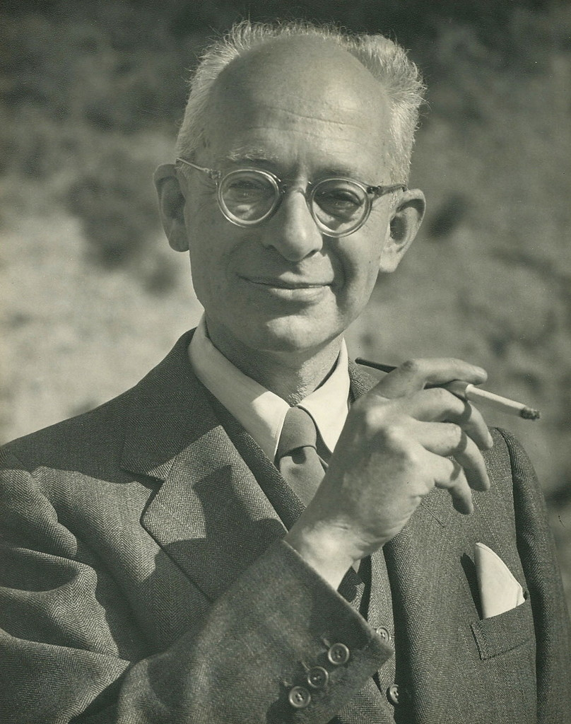Italian classical guitar composer Mario Castelnuovo-Tedesco